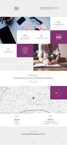 Quincy Requin Law Firm Website Design #lawyerwebsites #lawfirmwebsite #lawyer #website