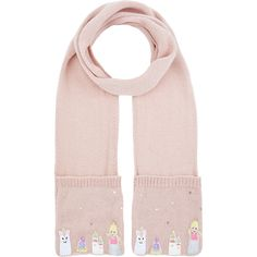 Monsoon Once Upon A Time Princess Novelty Scarf (445 MXN) ❤ liked on Polyvore featuring accessories, scarves, sequin scarves and sequin shawl