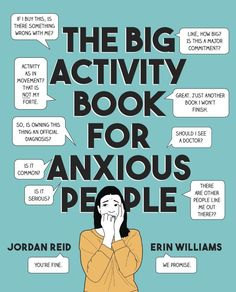 The Big Activity Book for Anxious People Vigan, Activities For Adults, Home Activities, Free Pdf Books, Free Ebooks, Rcf Audio, Erin Williams, Birthday Party At Home, Stefan Zweig