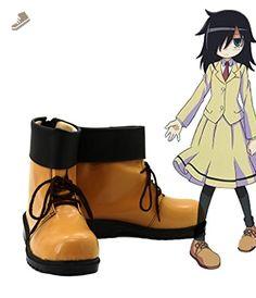 WataMote Tomoko Kuroki Cosplay Shoes Boots Custom Made - Telacos sneakers for women (*Amazon Partner-Link)