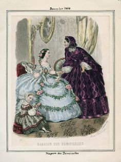 In the Swan's Shadow: Magasin des Demoiselles, December 1858