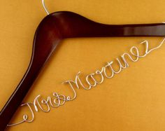 Promotion Single Line Bride Name Personalized by haomaihanger