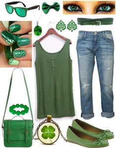 """""""don't be mean, keep it green ;)"""" by sammontomery ❤ liked on Polyvore"""