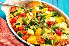 Zucchini Tomato Bake   Made this for Labor Day weekend. People raved about it!