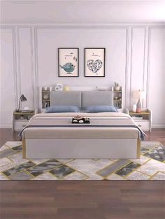 Bedroom Closet Design, Bedroom Furniture Design, Master Bedroom Design, Bed Furniture, Bedroom With Sofa, Master Bedroom Minimalist, Luxury Bedroom Design, Small Bedroom Designs, Smart Furniture
