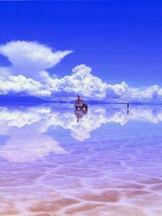 Atravesar el Salar de Uyuni en Bolivia