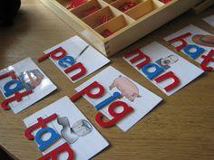 CVC Cards for Letter Tiles - FREE Printables