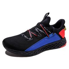 c4f69f9d410f Anta 2019 Zhang Jike Men s Casual Running Sneakers - Black Blue Red
