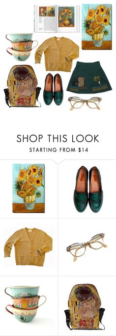 """Artistic soul"" by braincontortion ❤ liked on Polyvore featuring Miz Mooz, Mustard Seed and Retrò"