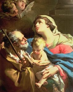 the holy family in sacred art | The Holy Family