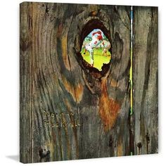 Marmont Hill 'Knothole Baseball' by Norman Rockwell Painting Print on Canvas, 40 X 40