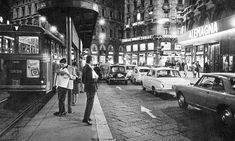 Via Orefici, Milano, 1960