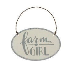Farm Girl Ornament - Pulp & Circumstance