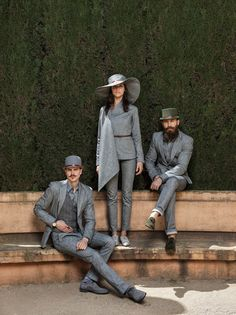 Peep Vähi, Joan Hint and Sten Karik for 2014 mid-latesummer raw denim collection by Reval Denim Guild, MINU jeans and the Guild Hattery