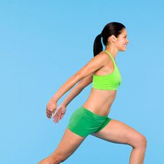Firm, Flat Abs Fast! Victory Lunge - Fitnessmagazine.com