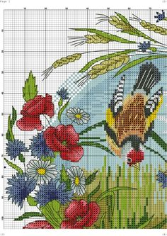 "ru / irisha-ira - Album ""in an oval"" Butterfly Cross Stitch, Cross Stitch Tree, Cross Stitch Cards, Cross Stitch Flowers, Cross Stitching, Cross Stitch Embroidery, Needlepoint Patterns, Embroidery Patterns, Cross Stitch Designs"