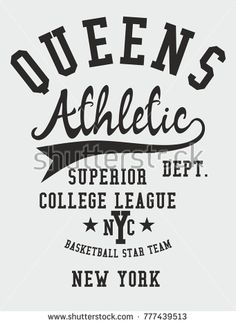 New York College Athletic Academy graphic design vector art