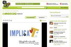 Implica't amb l'experiència http://www.edu3.cat/Edu3tv/Fitxa?p_id=100903
