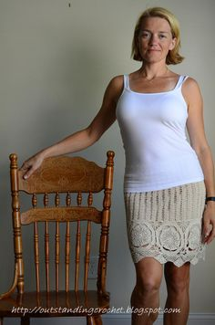 Outstanding Crochet: Crochet Stone Mini Skirt.