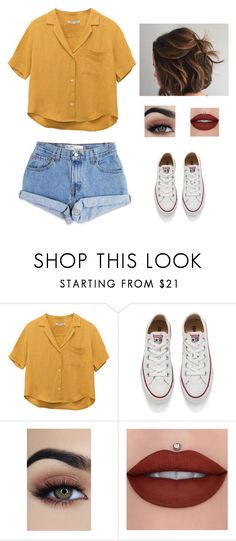 """Untitled #168"" by beachbumxoxo on Polyvore featuring Levi's and Converse"