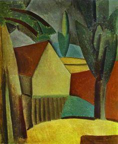 Picasso- House in a Garden 1908