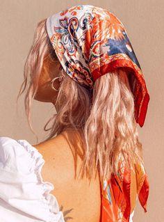 hair accessories - hair accessories + hair accessories for women + hair accessories headbands + hair accessories storage + hair accessories diy + hair accessories wedding + hair accessories aesthetic + hair accessories for women headbands African Hairstyles, Hairstyles With Bangs, Cute Bandana Hairstyles, Hair With Bandana, Easy Hairstyles, Prom Hairstyles, School Hairstyles, Natural Hairstyles, Scarf Hairstyles Short