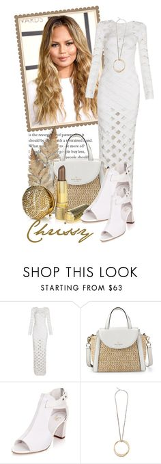 """""""Girl Crush.......Chrissy Teigen (New Contest)"""" by queenrachietemplateaddict ❤ liked on Polyvore featuring Kate Spade and Givenchy"""
