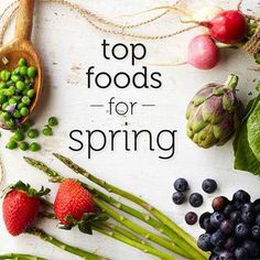 10 Foods to Eat This Spring #myplate