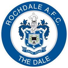 Rochdale Association Football Club – Wikipédia, a enciclopédia livre English Football Teams, Football Score, British Football, Football Team Logos, Soccer Logo, Arsenal Football, Sport Football, Soccer Teams, Football Shirts