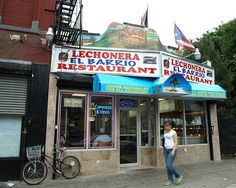 Lechonera El Barrio Restaurant, Spanish Harlem, New York City by jag9889, via Flickr