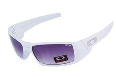 #Share #Sunglasses Oakley Gascan Rectangular White CGV