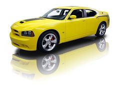 2007 Dodge Charger SRT-8 Super Bee. Sexiest car ever!!! And in my favorite color!!!