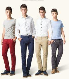 BIG-SALE-font-b-Men-s-b-font-font-b-Trousers-b-font-Straight-Pants-Quality