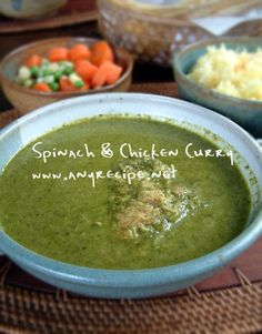 Indian Curry, Spinach Stuffed Chicken, Rice Recipes, Palak Paneer, Guacamole, Main Dishes, Food And Drink, Asian, Cooking