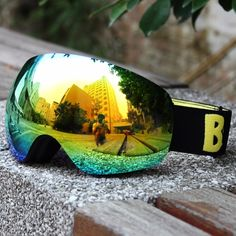 42.65$  Watch here  - Be Nice Newest Design Ski Goggles Brand Italian Lens Top Quality Professional Anti-fog Full Anti-UV Skiing EyeWear Ski Glasses