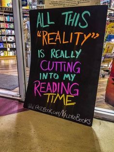 Yeah... please somente tell reality to LEAVE ME ALONE WHEN IM TRYNA READ!!!!!!