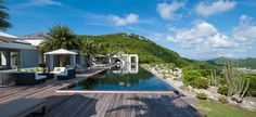 Book the Olive Villa for a glamorous holiday in st Barth !