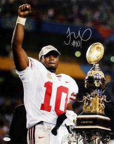 Troy Smith Signed 16x20 Photo - Ohio State Buckeyes - JSA - Sports Memorabilia