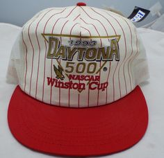 New vintage 1993 Daytona 500 snapback Trucker USA Hat Nascar Winston Cup  NWT  Unbranded Daytona 19ef983ca367