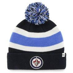 b5644c78747 Men s Winnipeg Jets  47 Brand Royal Blue Breakaway Knit Hat