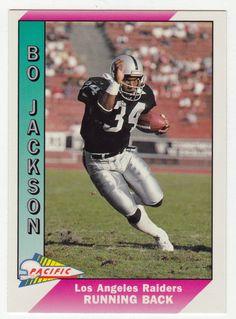 Bo Jackson # 234 - 1991 Pacific Football