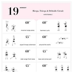 Sneak peak of todays workout! Lets start week 6 withhellip Abs And Obliques Workout, Deltoid Workout, Oblique Workout, Biceps And Triceps, Cardio Abs, Bicep And Tricep Workout, Boxing Workout, Body Workouts, Pilates Workout