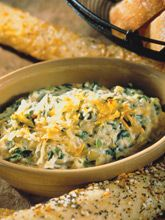 Recipe #1 - Soy and Spinach Artichoke Dip