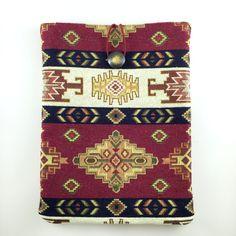 Ethnic Carpet Ipad Case,Kilim Ipad Case,Ethnic Ipad Cover,Fabric Ipad Case,Boho Ipad case,Bohem Style Ipad Case,Boho Book Cover,Ipad Sleeve by GFMODE on Etsy