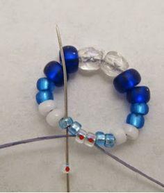 Alternating Cellini Spiral Bracelet Beadweaving Pattern - MyAmari
