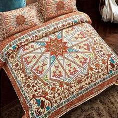 Bohemian Style 4pcs Bedding Sets full Queen / King Size Duvet Cover