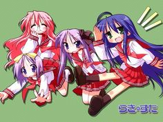 Tags: Anime, Lucky☆Star, Izumi Konata, Hiiragi Kagami, Hiiragi Tsukasa