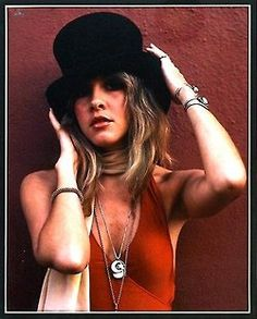 "Stevie Nicks...such a talented singer and amazing songwriter!!!! LOVE ""Stand Back"" and ""Edge of Seventeen."""