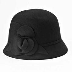 Croft & Barrow Floral Cloche Hat