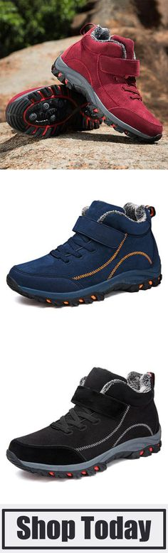 45e57cdc95 Women s Casual Warm Plus Size Mountain Hiking Sneakers. LaddyTopia · Boots